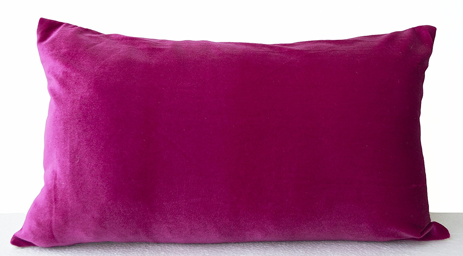 Buy Amore Beaute Handcrafted Decorative Pillow Covers In Peach Emerald Green Navy Blue Hot Pink Chocolate Brown Olive Green Velvet And Oatmeal Linen Couch Pillow Cover Sofa Pillow Cover