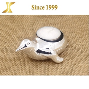 Cute shape Metal Decorative table standing Candle Holder