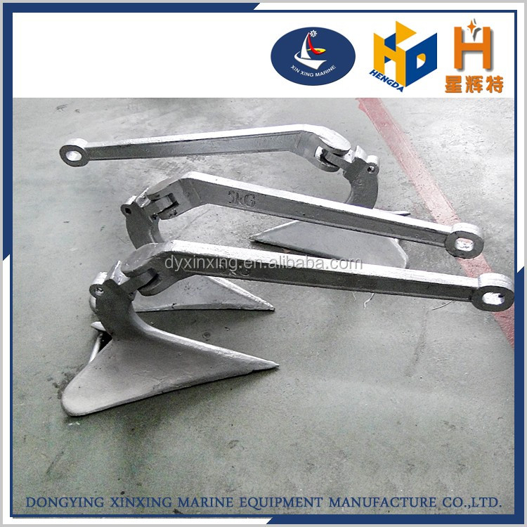 hot dip galvanized or stainless steel plough anchors for sale
