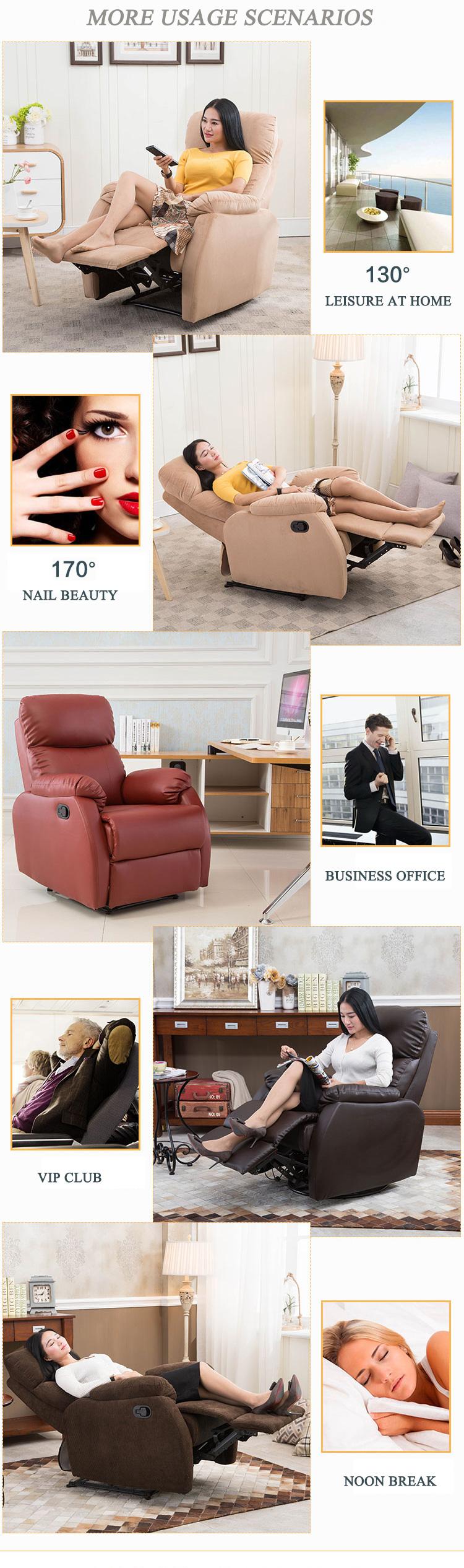 reclining sofa leather