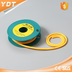 Manufacturers hot selling ec type pvc electric cable marker