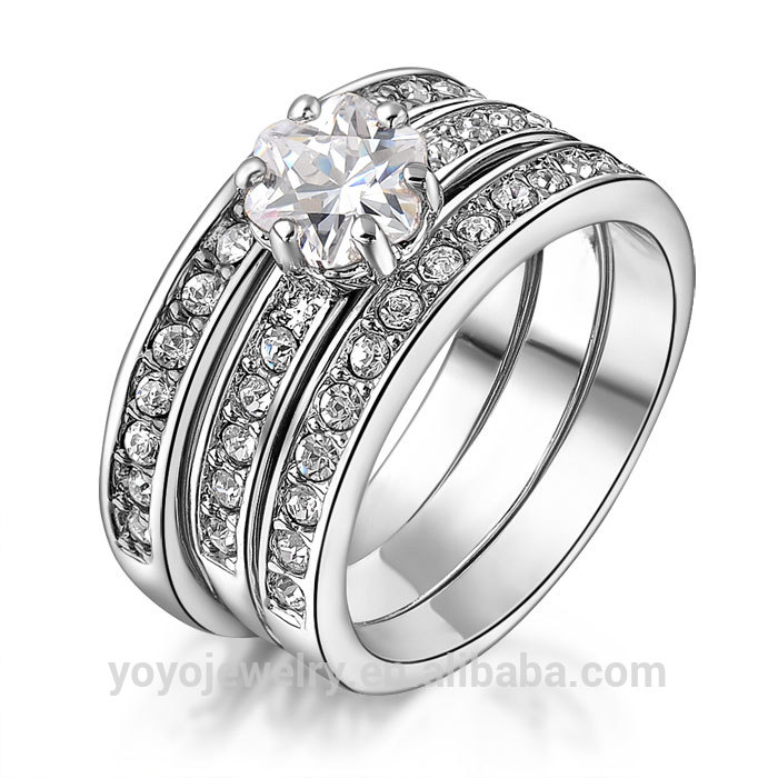 Special Silver Plated Boy Fashion Sterns Wedding Rings - Buy ...