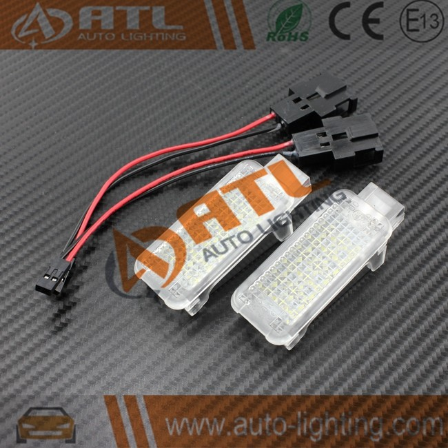 Good appearance canbus 12v license plate light for skoda superb