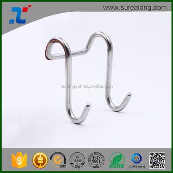 Surealong Küche Wand Lagerung Montagezubehör Metall Stahl Doppel S