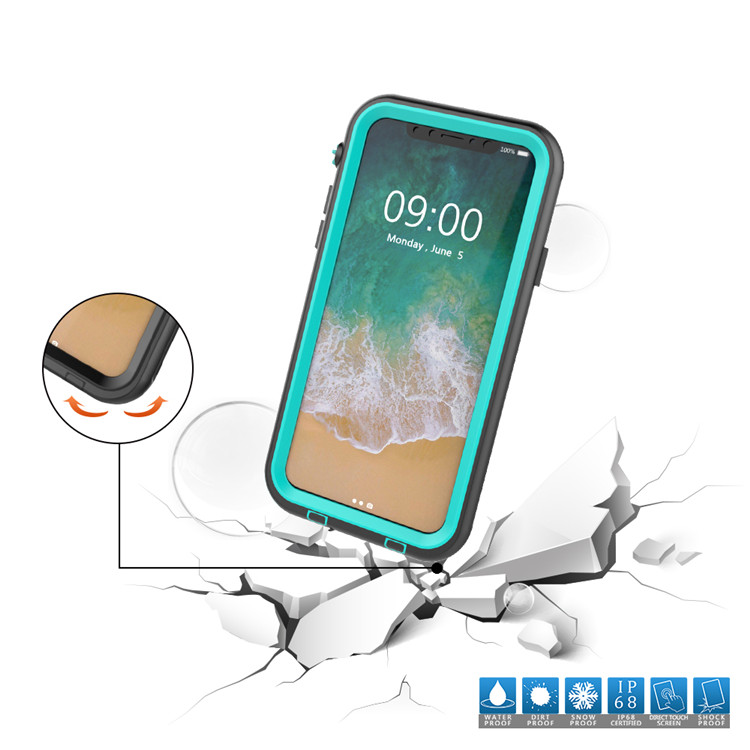 New Arrival 360 Cell Phone Case, Mobile Phone Shell for iPhone X