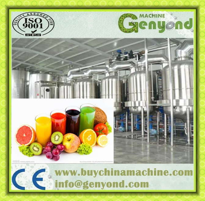High Pressure Processing Juice/natural Fruit Juice Production Line ...
