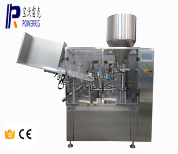 Automatic aluminum tube filling sealing machine