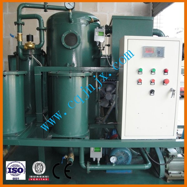 ZLC-250 used transformer Oil Disposal system, dewater, degas and removes the impurities