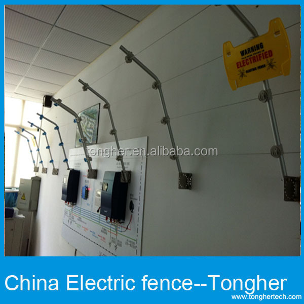 Prison Fence At Night: Safe High Voltage 14kv Electric Fence For House/home