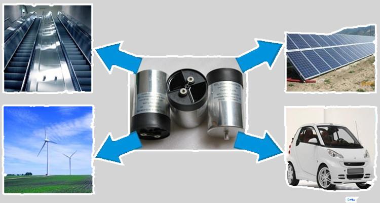 low ESR DC Link film capacitor of wind power