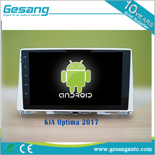 Android 6.0 auto entertainment system car dvd player and radio for kia Optima 2017 with GPS,Bluetooth,3D UI
