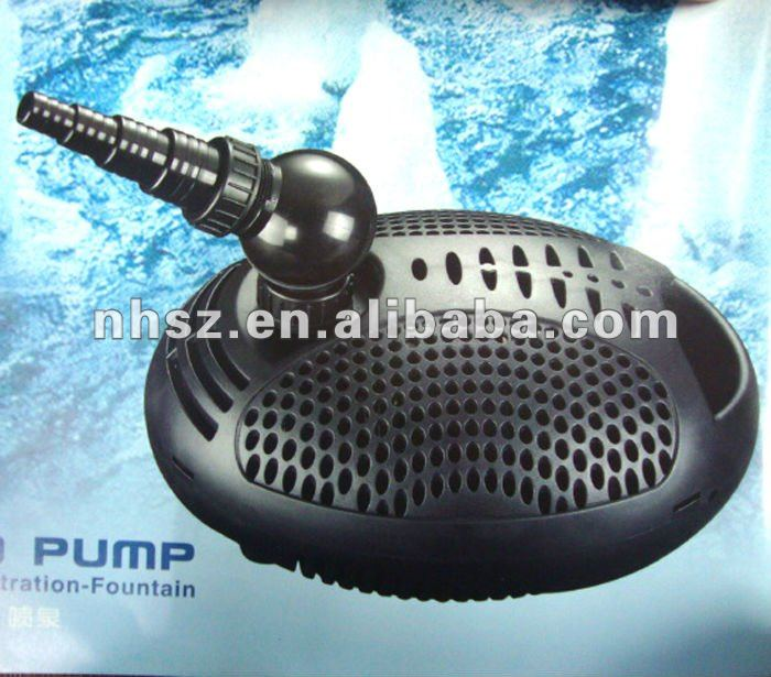 Pond pump of pumping-filtration-fountain