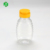 Free Sample 250g Clear Empty Sauce Packaging Squeeze Bottle With Silicone Valve Cap 500g,PET Plastic Honey Bottle