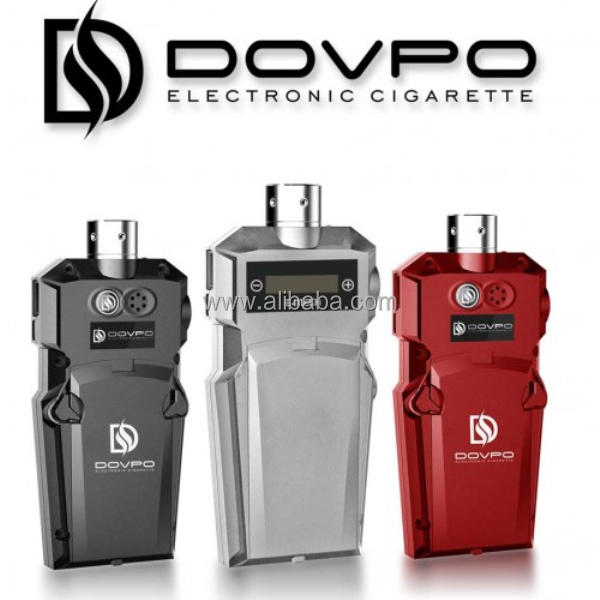 The Dovpo E-MECH is a revolutionary Transformers Style E Cigarette Mod with touch screen operation, co-manufactured by DOPVO