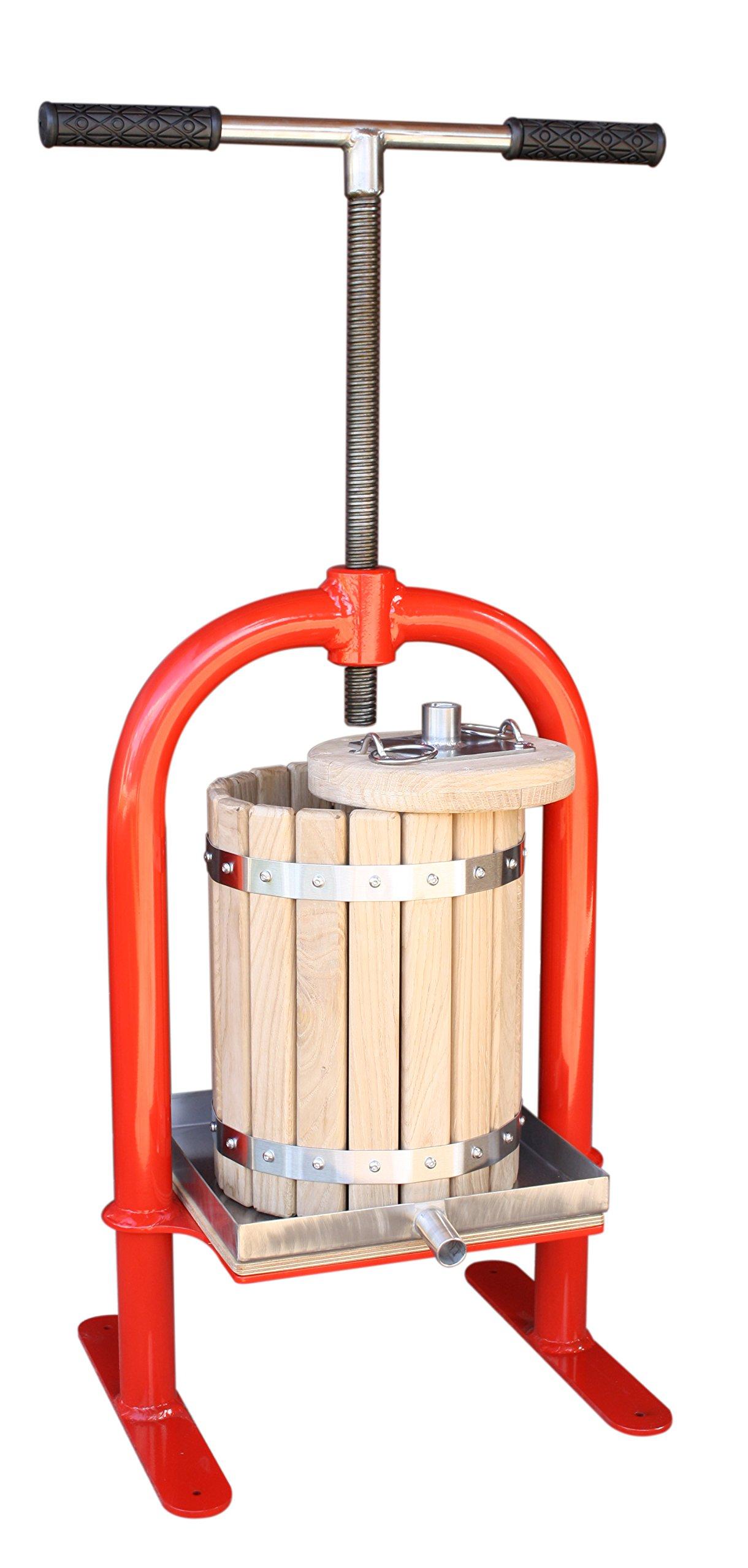 Screw press VP-10 - juicer for apples, grapes, berries, fruits, wine, cider