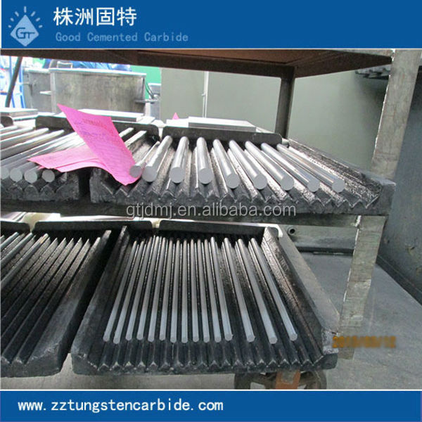 Zhuzhou high performance tungsten carbide blank rods factory directly provided cemented solid welding rods
