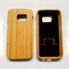 Real bamboo phone case for samsung galaxy s7