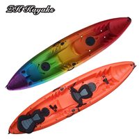 rotomolded plastic fishing kayak boat for leisure life kayak rowing