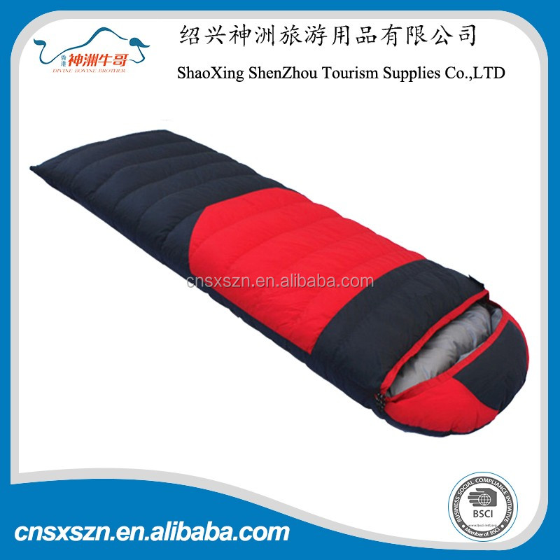 Wholesale Custom Printed Down Filled Fast Inflatable Sleeping Bag
