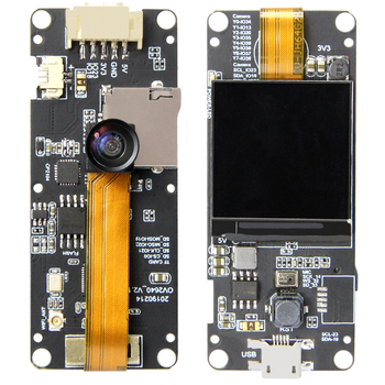 Ttgo Fish-eye Rear Camera Esp32-dowdq6 8mb Spram Camera Module Ov2640 1 3  Inch Display - Buy Rear Camera,Camera Module,Development Board Product on
