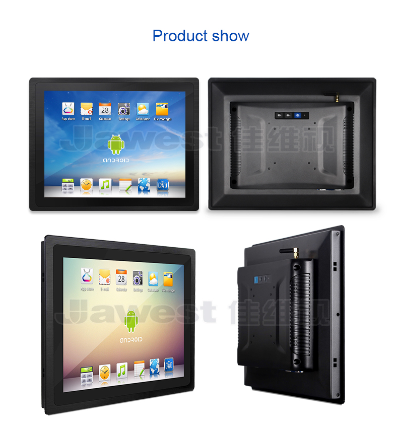 10.4 inch Allinone IIoT Panel PC Embedded Android Touch Screen LCD Display