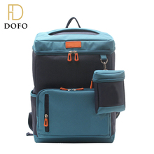 2017 Wholesale fashionable new design colorful colors backpack child school bag for boy