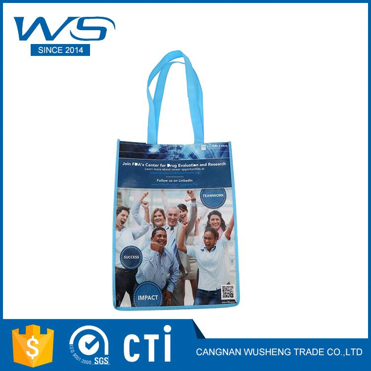 Newest selling unique design custom print non-woven fabric bag