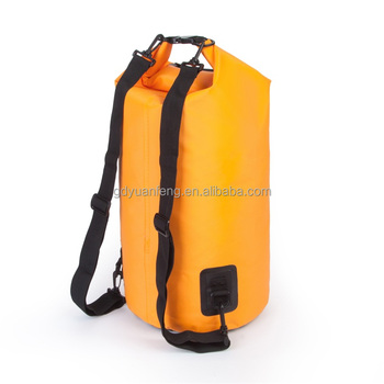 Free Sample Waterproof Sports Bag With Straps Dry Hiking Camping Equipment