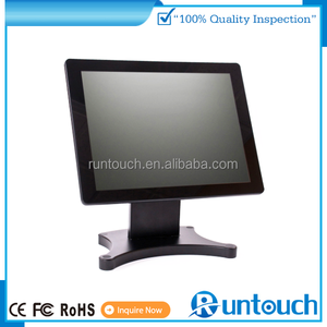Runtouch touch screen monitor true flat touch water proof and dusty proof hihg quality pos monitor