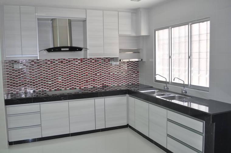 new arrival white melamine kitchen cabinet door high moisture-proof kitchen  furniture