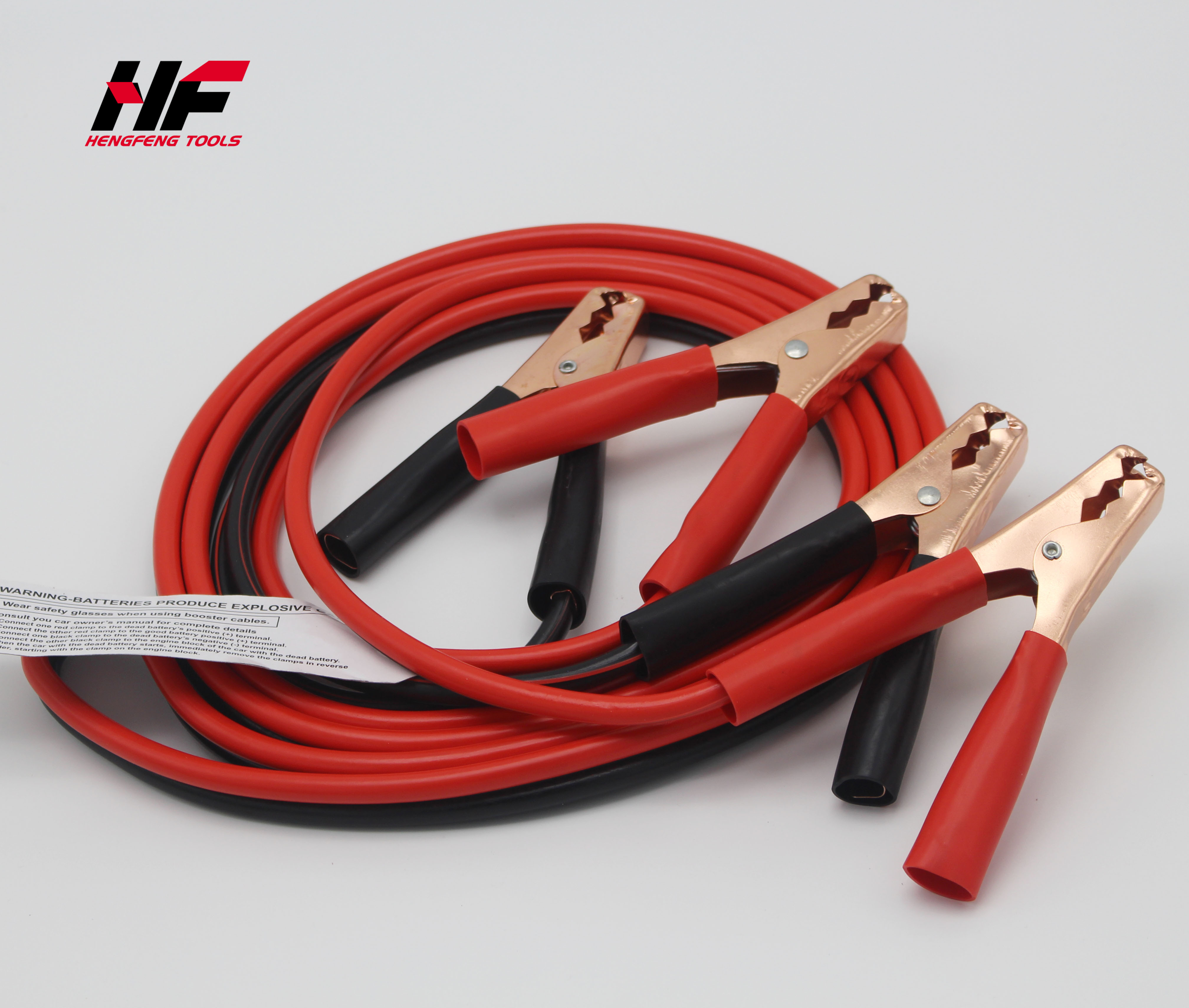 Industrial Heavy duty 20  Feet 2 Gauge Booster Jumper Cables GS Free Shipping