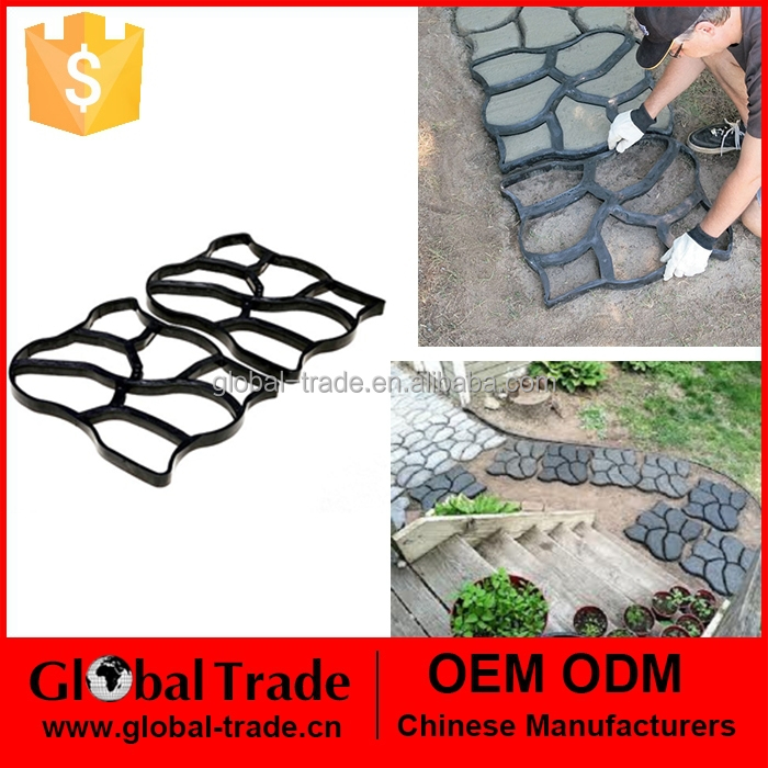 550090 Path Maker Mold Crazy Paving Maker Paving Mold Creates Beautiful Path For Your Garden