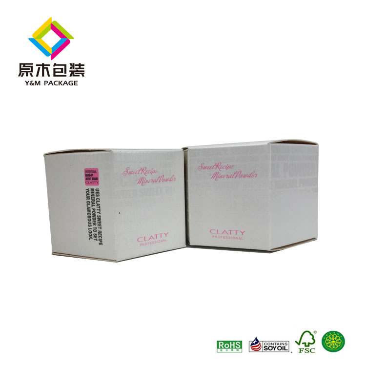 design gift box custom small hexagon shape box uv printing