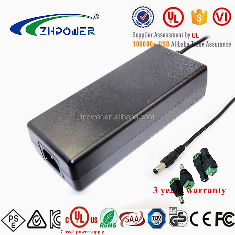 Desktop universal input Single Output 20v dc 4.5a switching power supply 90W level VI with UL CE PSE KC SAA approved