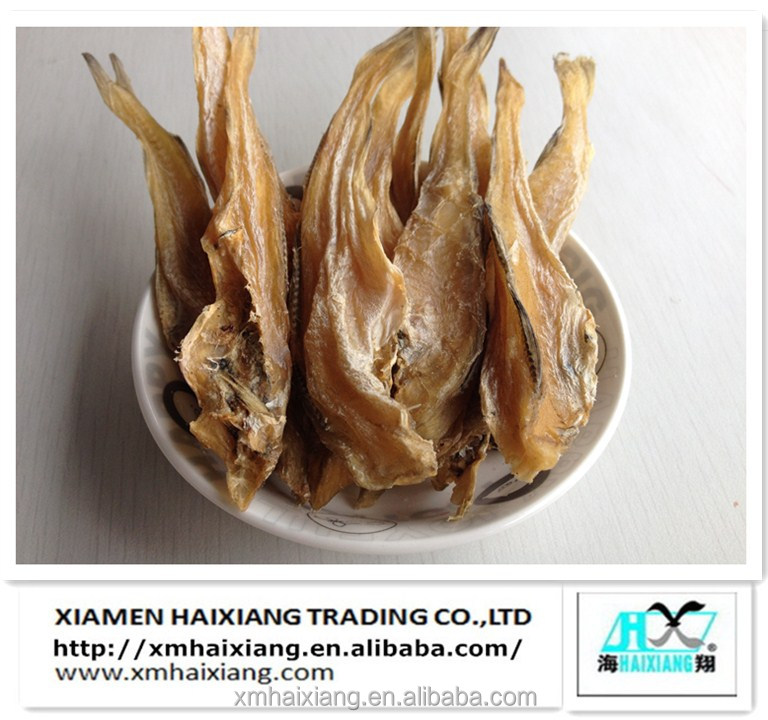 Dried salt cod pet fish products