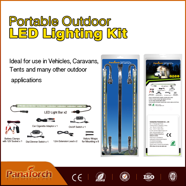 Durable Green color Waterproof IP65 Led camping light for Tent, Awning, Camping site