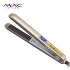 Professional High Quality Gorgeous Gold Hair Straightener Products LCD Digital Korea Hair Straightener