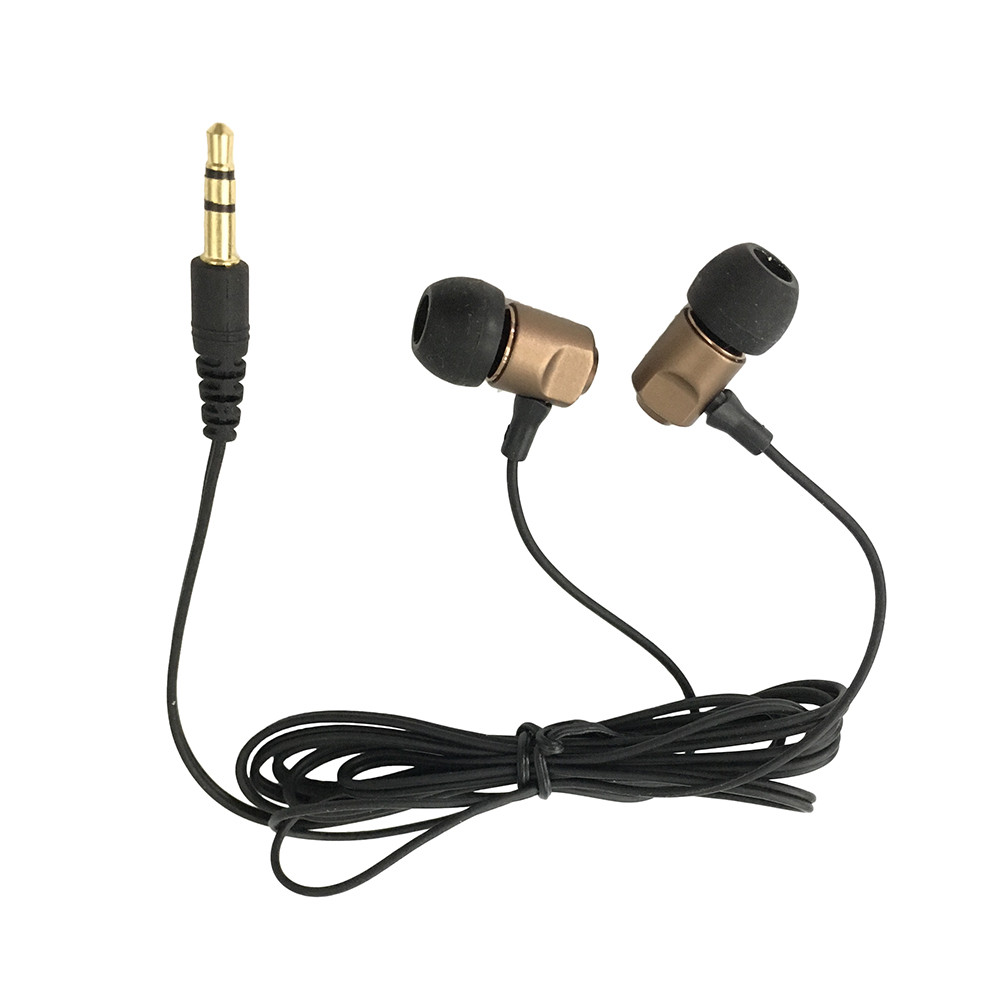 Best selling factory manufacturing mini music stereo promotional gifts earphone