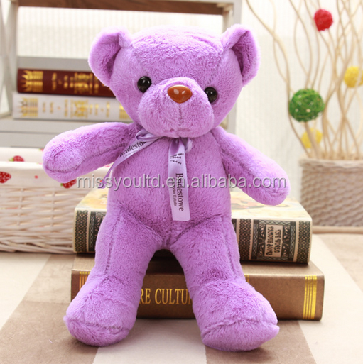 Mini Size Plush Stuffed Christmas Teddy Bear