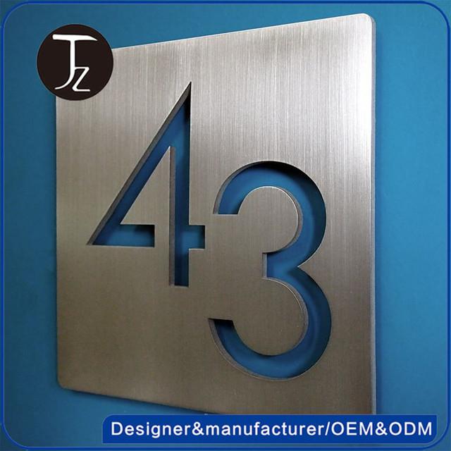 Awesome Apartment Door Numbers Photos - Amazing Interior Design ...