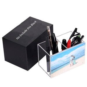 Clear lucite photo box frame wholesale acrylic box frame