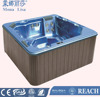 2016 new design Italian style portable 5 persons hot tub spa with filter pump M-3327