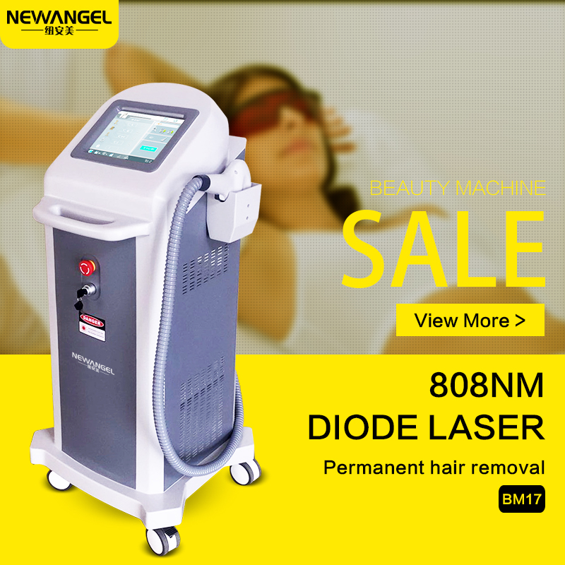 Cost effective 2000w high power 808nm hair removal diode laser German