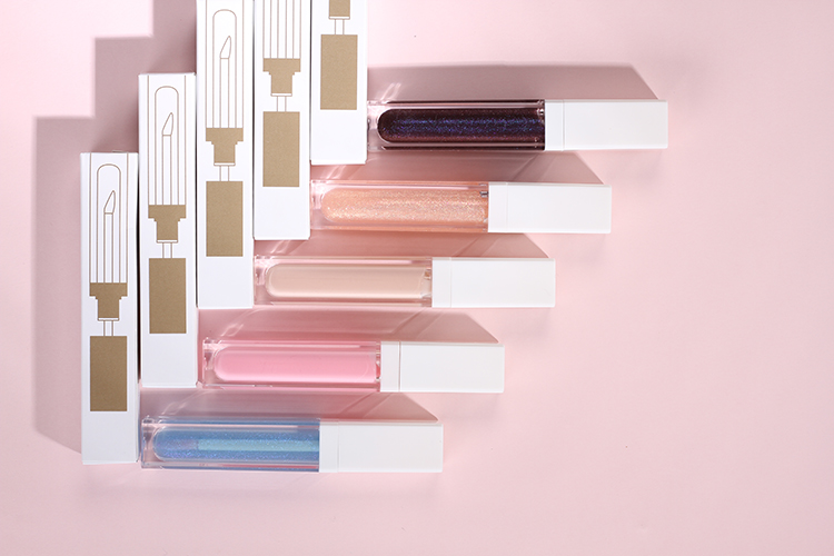 Toptan fabrika özel etiket parlak Lipgloss Glitter dudak parlatıcısı