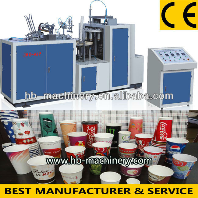 Full-automatic Paper Cup Making Machinery Price Jbz-a12 - Buy ...