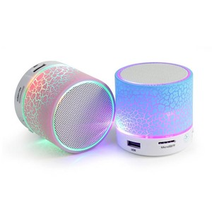 china new design s10 music haptime metal wireless portable mini bluetooth speaker