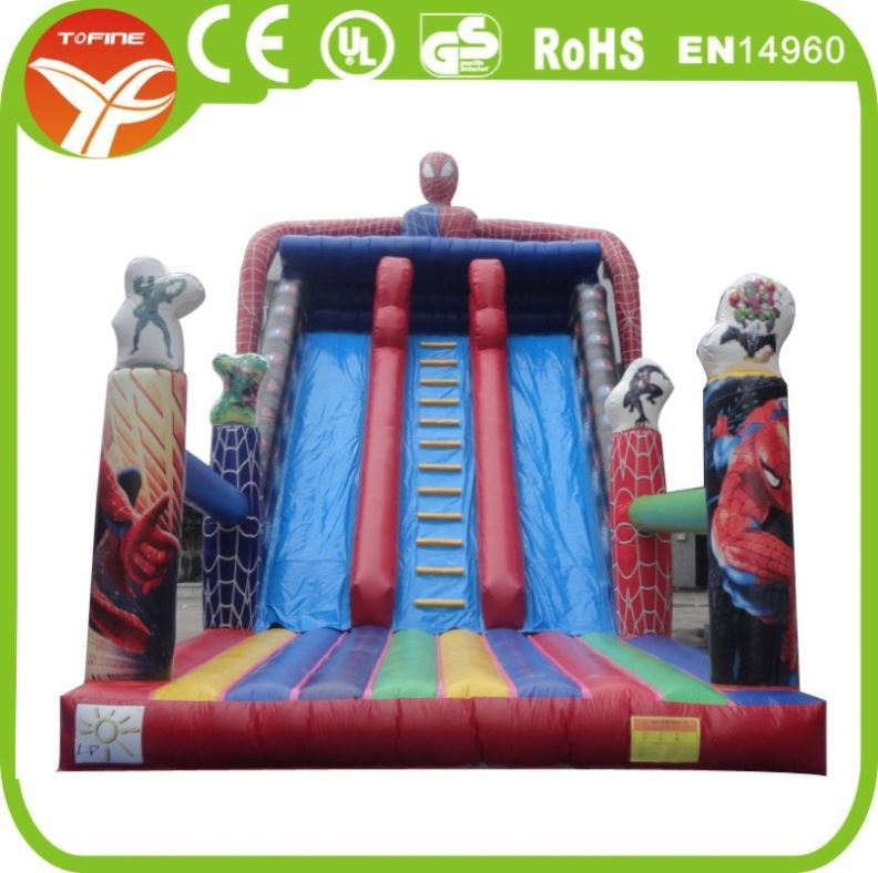 Factory offer cheap inflatable slides for sale