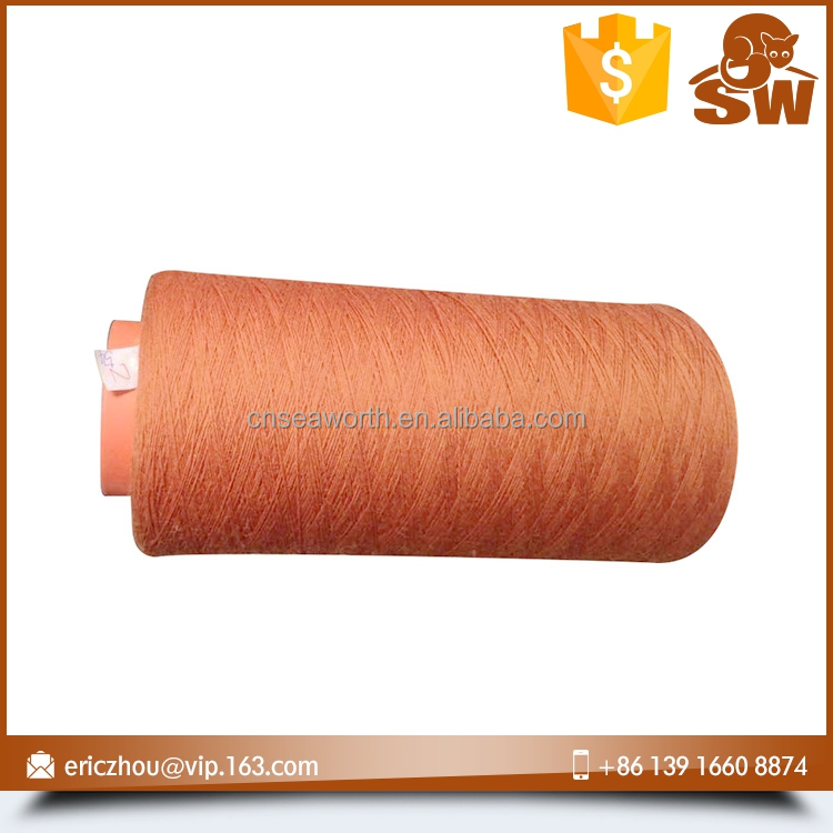 Top level recycle yarn cheap price wool yarn for weaving