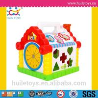 High quality plastic cute wholesale toy house with EN71
