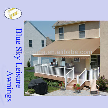 Best Quality Auto Full Cassette Retractable Awning Caravan Awning